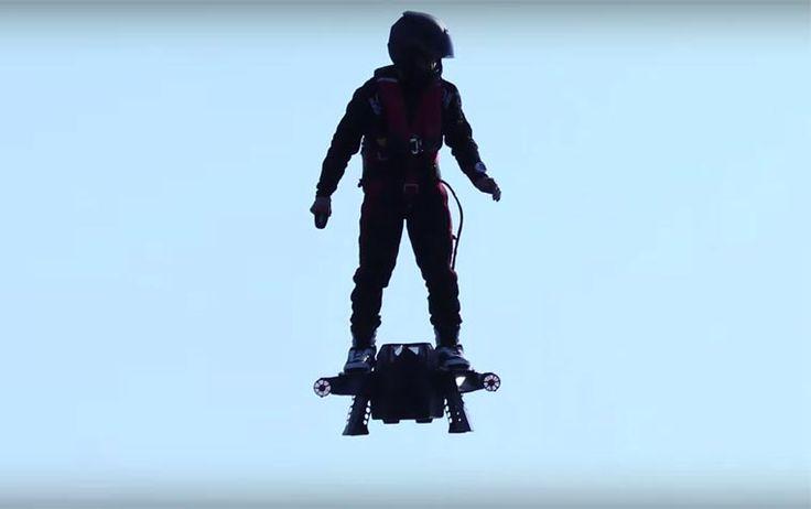 Flyboard Air: Un Novedoso Aparato de Vuelo Personal