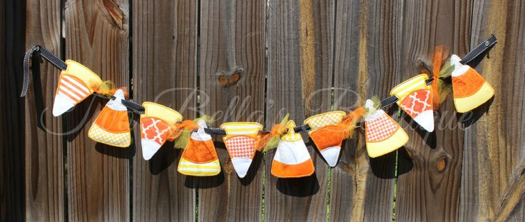 Candy Corn Banner,Halloween Banner,Candy Corn,Halloween,Halloween Decor,Candy Corn Decor,Candy Decor,Halloween Decorations,Candy Decorations by TwoBellasBoutique on Etsy