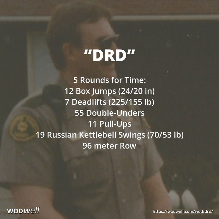 This Tribute / Hero WOD from CrossFit Mansfield (Mansfield, TX, USA) is in memory of Douglas R. DeLanoit, who was killed in an off-duty car accident on November 19, 1996. He served in the US Air Force as an MP during the Vietnam-era, and he continued his career in Law Enforcement for 16 years as a deputy in the Webster County Iowa Sheriff's Department. The 12, 7 and 55 reps are for his birthday (December 7, 1955) and the 11, 19 and 96 reps are for the date of his death.