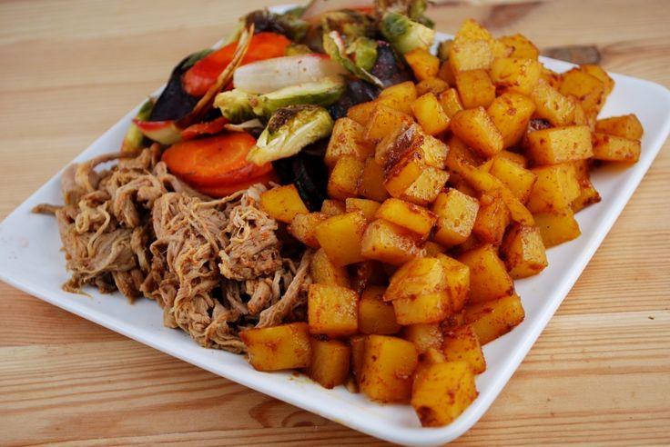Ingredient Pulled Pork (and 3 Ingredient Ethiopian Rutabaga ...