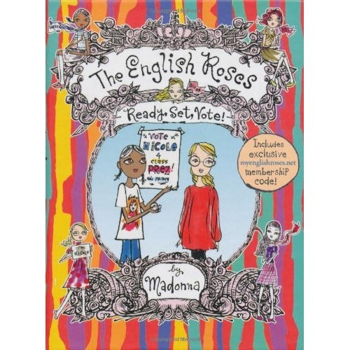 Children's book:  The English Roses  Written by Madonna  Illustrated by Jeffrey Fulvimari