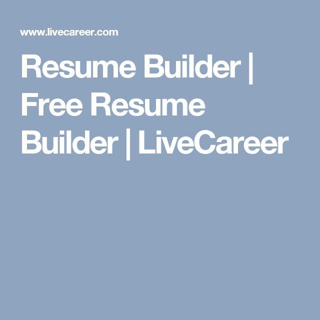 Ponad 25 najlepszych pomysłów na Pintereście na temat My resume - live career resume builder