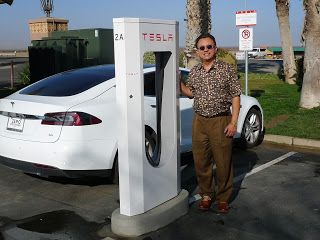 Tesla charging stations appearing in various parts of California!