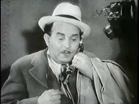 Kabos Gyula telefonál