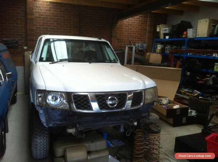Nissan GU Patrol race car project ... suit finke  safari or comp truck  #nissan #patrol #forsale #australia