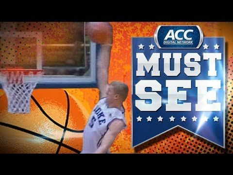 Check out Duke's Mason Plumlee's nasty alley-oop dunk that he throws down against Ohio State Wednesday night. During the game, Plumlee set the all-time Duke   dunk record.     Follow the ACCDN on Twitter: https://twitter.com/theaccdn  Like us on Facebook: http://apps.facebook.com/accsports