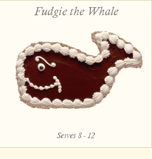 Fudgie the Whale from Carvel