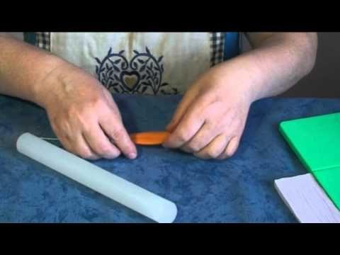 ▶ Tutorial sterilizia o uccello del paradiso in gum paste - YouTube