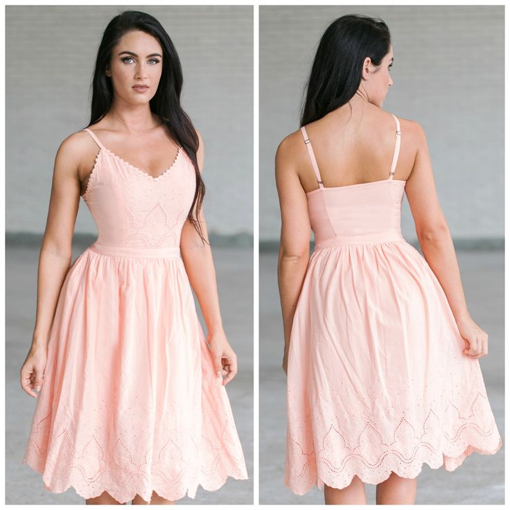 This apricot dress has an A-line midi skirt:  http://ss1.us/a/C3lcGada