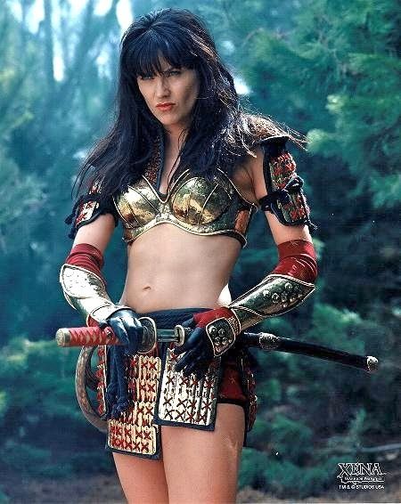 Nobody rocked the warrior princess look more than Xena.