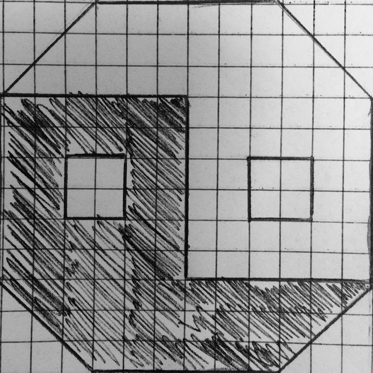 My octagon yin yang design