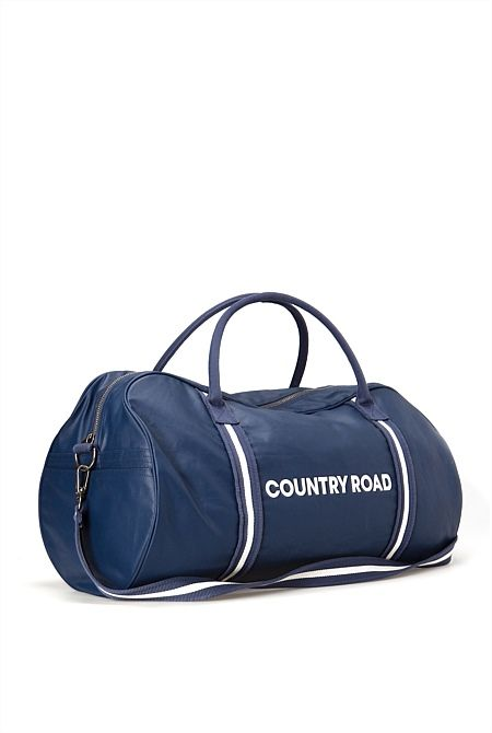 Coated Rubber Logo Tote