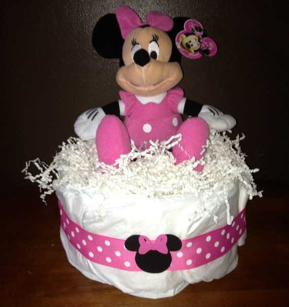 minnie mouse diaper cake minnie mouse baby shower minnie mouse pa