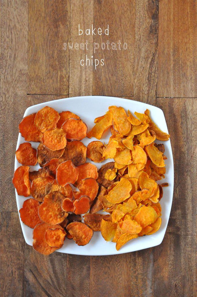 Baked Sweet Potato Chips    MinimalistBaker.com #vegan #chips