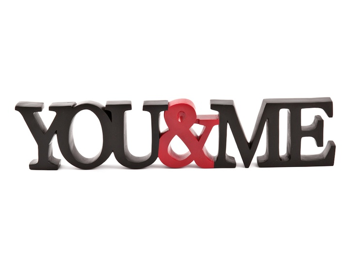 YOU AND ME BLK/RED