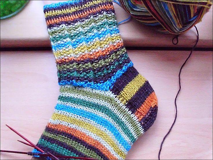 Fido | Socken stricken muster, Sockenmuster stricken ...