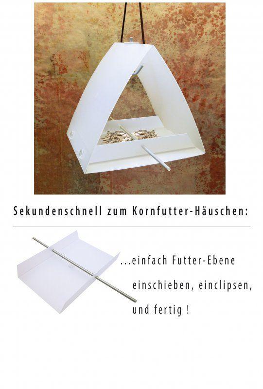 Design Vogelfutterhäuschen