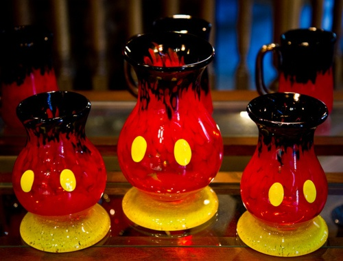 MICKEY MOUSE vases LOVE THIS!!❤