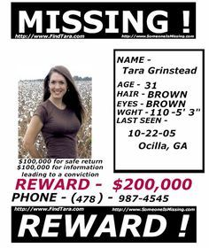 GbI found her, may she have peace now.