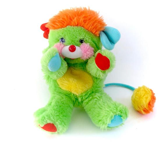 Vintage Popples Putter Green Plush 1985 Plushie! www.CuteVintageToys.com 💖 Hundreds Of Kawaii Vintage Toys From The 80s & 90s! Follow Me & Use The Coupon Code PINTEREST For 10% Off Your ENTIRE Order! 💌 Dozens of G1 My Little Ponies, Polly Pockets, Popples, Strawberry Shortcake, Care Bears, Rainbow Brite, Moondreamers, Keypers, Disney, Fisher Price, MOTU, She-Ra Cabbage Patch Kids, Dolls, Blues Clues, Barney, Teletubbies, ET, Barbie, Sanrio, Muppets, & Fairy Kei Cuteness! 💖