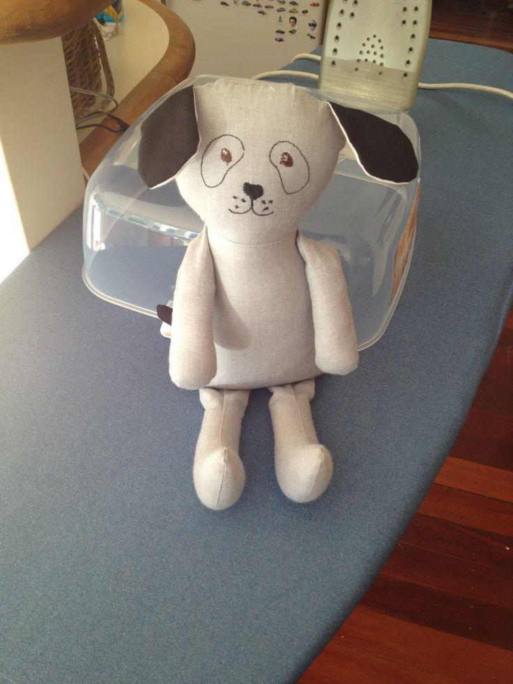 Dog Softie - Pattern from Shiny Happy World