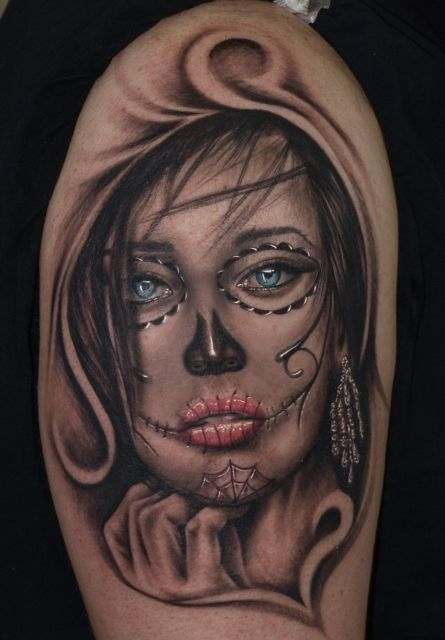 Tattoos zum Stichwort La Catrina | Tattoo-Bewertung.de | Lass Deine Tattoos bewerten!