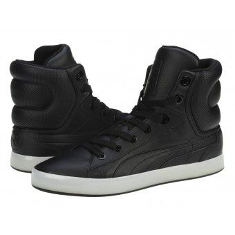 Ghete sport barbati Puma 2nd Round Hi black