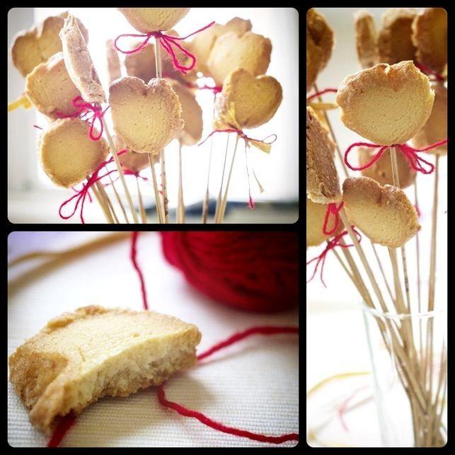 «Бриллиантовое» печенье ... на палочке