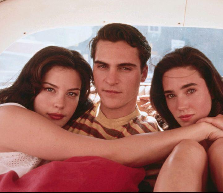 Liv Tyler, Joaquin Phoenix + Jennifer Connelly in Inventing the Abbotts (1997) #cartonmagazine