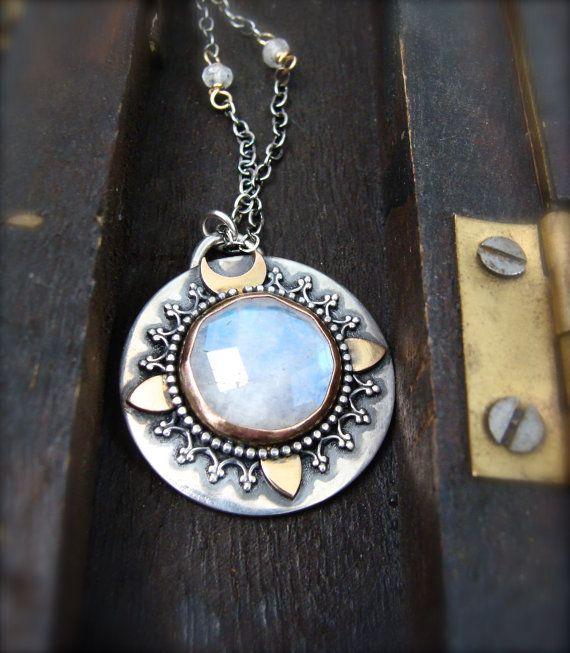 Pandora Moonstone Earrings: Lunar Compass ... Moonstone Pendant