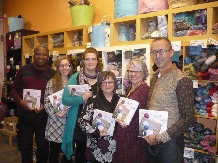 Superbe lancement pour notre nouveau bijou littéraire Le tricot, un art à transmettre d'Ann L.Beaulieu et Josée Clark! Procurez-vous-le dès maintenant!