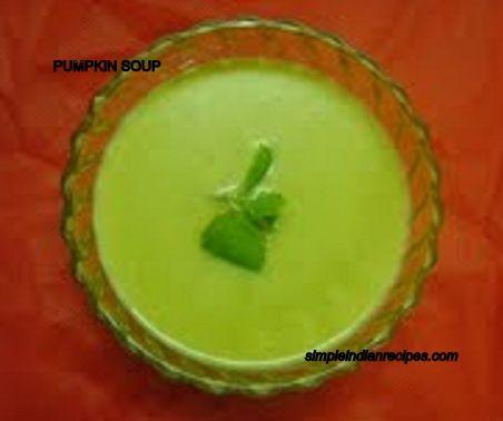 Pumpkin Soup - Poosanikai Soup - Kaddu Soup | Simple Indian Recipes