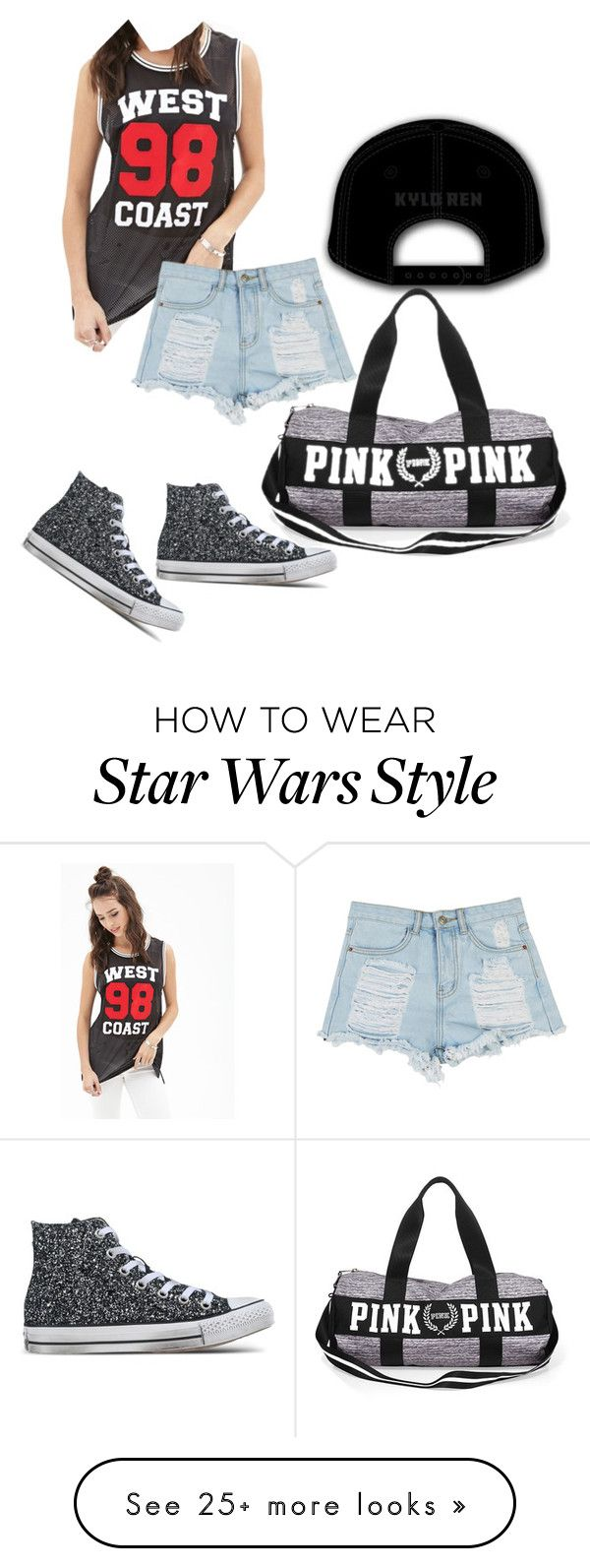 """""""To the gym!!"""" by dawnima on Polyvore featuring Episode, Forever 21, Converse, women's clothing, women, female, woman, misses and juniors"""