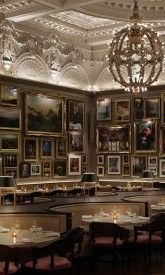 It's not easy getting a table at Berners Tavern at The London Edition Hotel - this restaurant is really that popular and a destination in itself. The menu offers a surprisingly modern British fare, is reasonably priced, and service was good.
