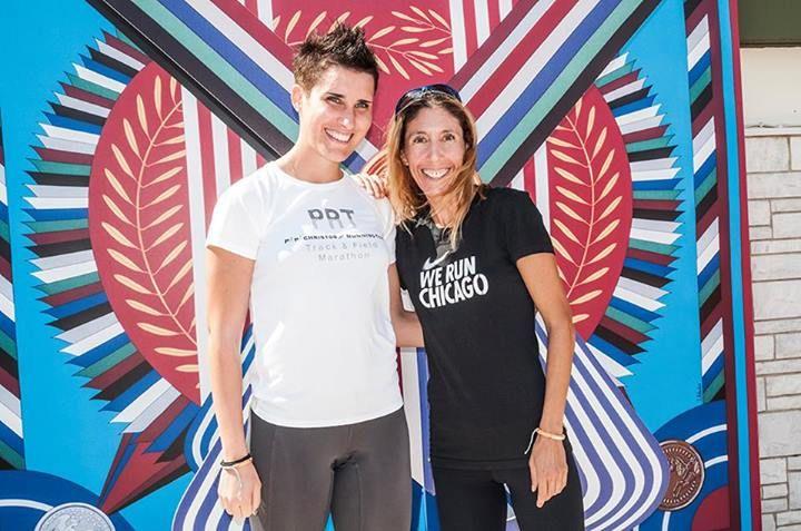 #ladiesrungreece Dagli-pagotto Fotini and Philippa Poulidou