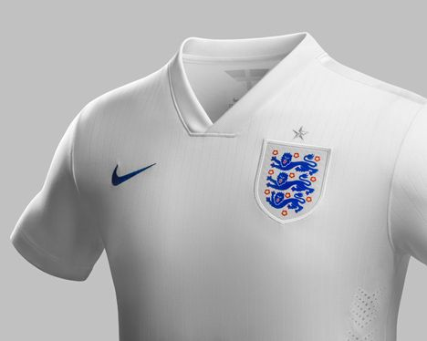 Neville Brody typeface for England Football team at 2014 World Cup
