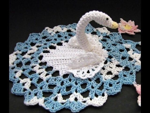 Serene swan Doily Crochet in Tamil.English - Video 1 DIY and crafts ...