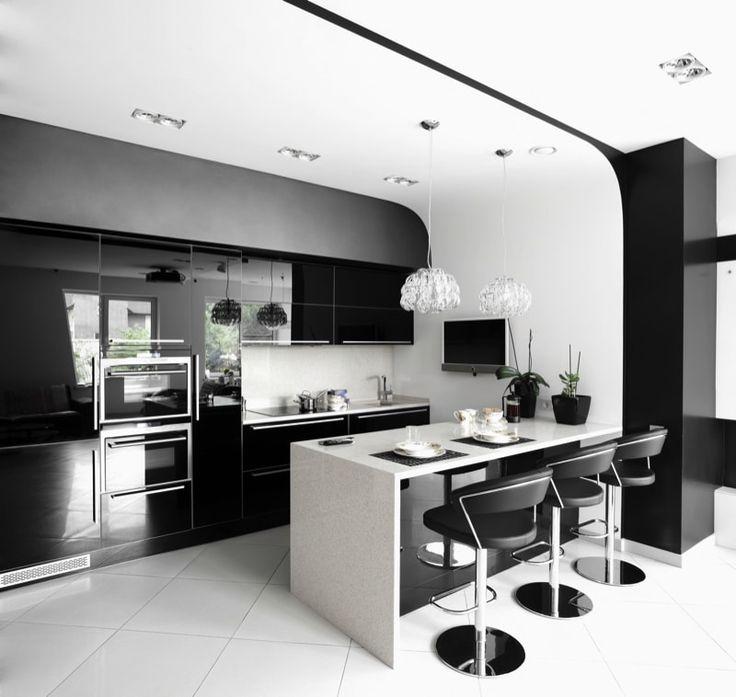 21 best Schwarze Küchen images on Pinterest Black kitchens - grimm küchen karlsruhe