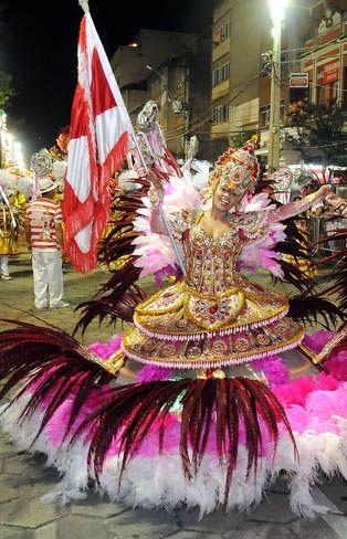 Porta Bandeira do Carnaval