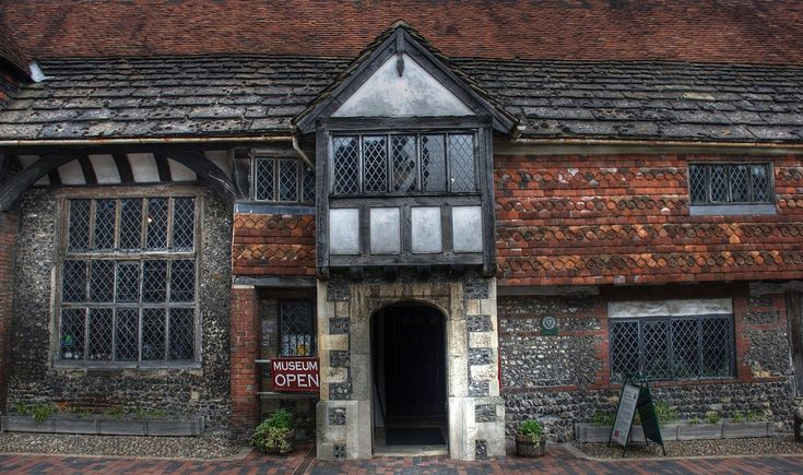 Anne of Cleves House in Lewes. Part of her Annollment from King Henry VIII although Queen Anne never lived there.