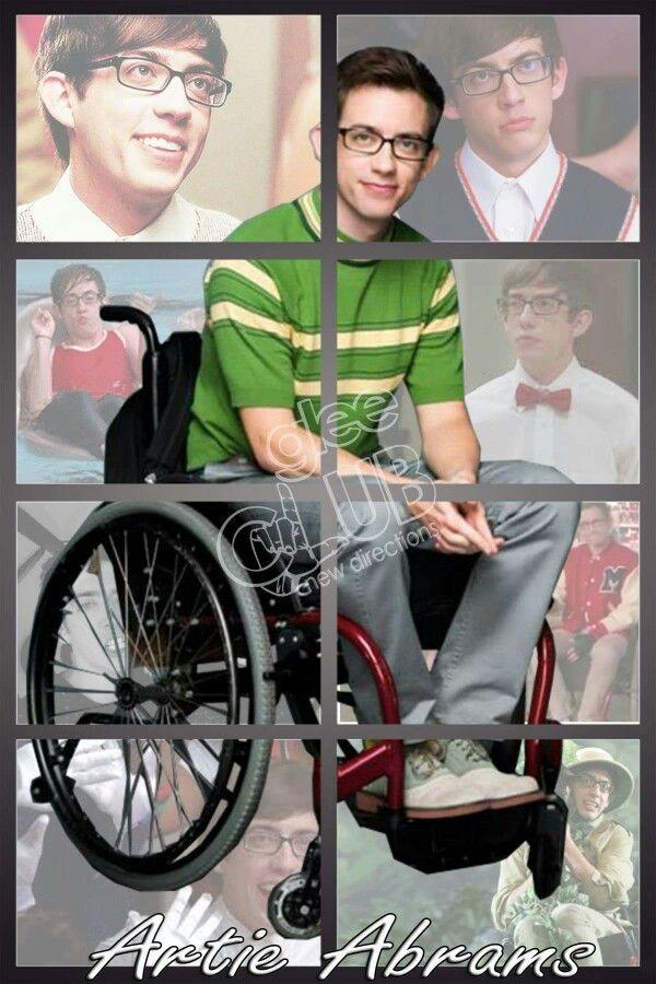 #ArtieAbrams #Glee #KevinMcHale