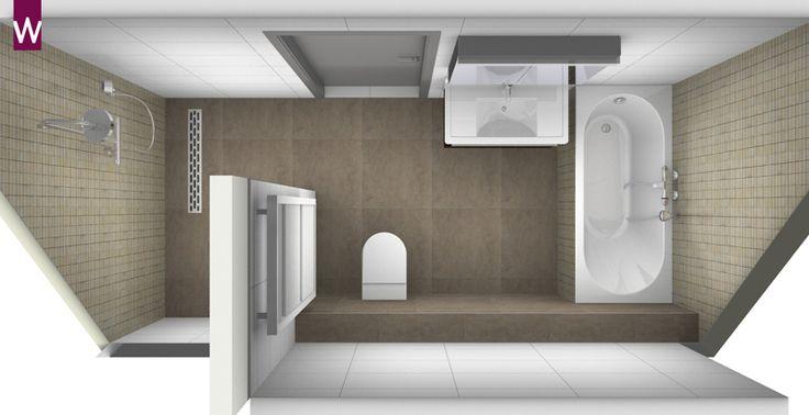 66 best 3D badkamer ontwerpen images on Pinterest | Bathroom ...