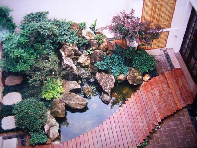 1000 ideias sobre cascata artificial no pinterest como for Plantas para estanques pequenos