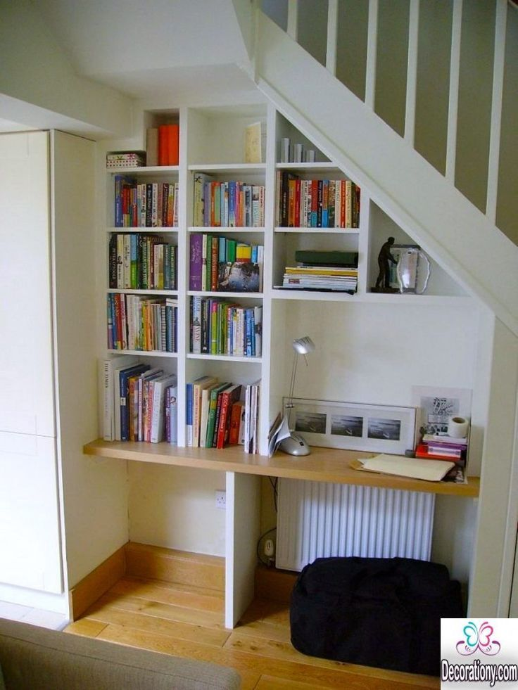 Under Stairs Decorating 17 Smart Diy Desk Ideas For Home Office