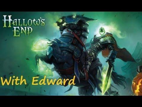 World of Warcraft: Hallows End Headless Horseman Mount!