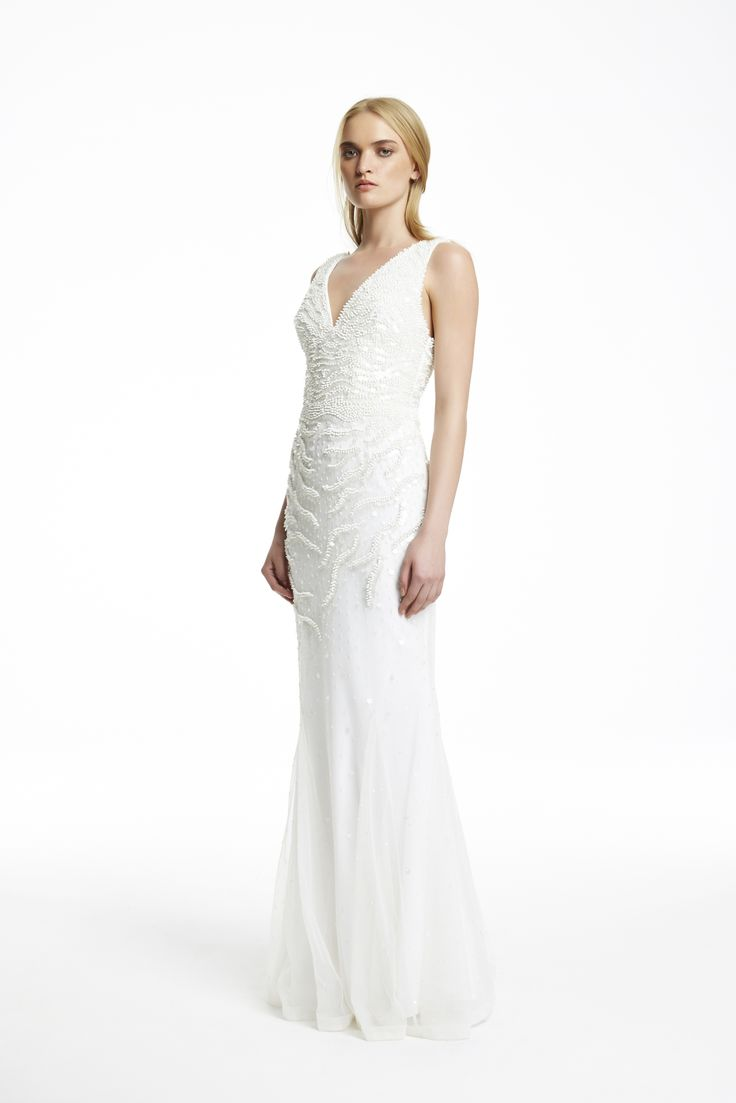 AW15 // KALEIGH GOWN IVORY