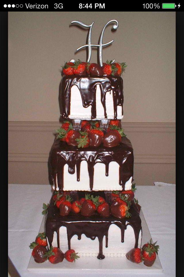 My Kind Of Wedding Cake Chocolate Strawberries