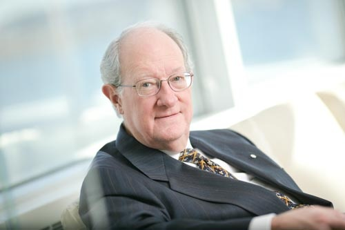 Dr George Cooper, president and vice-chancellor of the University of King's College. #ukings #halifax