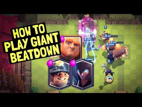 Giant Night Witch Beatdown Miner Hybrid Deck for Ladder in Clash Royale is OP!! Hey you guys in today's video I'm going to be sharing a very powerful deck in the current meta it is a giant night witch beatdown deck. This is also a giant miner hybrid deck featuring the poison spell which allows it to serve as a giant poison deck which is really strong in the current meta or a miner poison deck which is also a very powerful deck in the current meta for legendary arena and grand challenges…