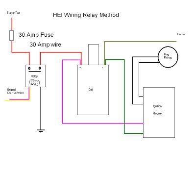 gm hei distributor and coil wiring diagram  Yahoo Search Results | Chevy